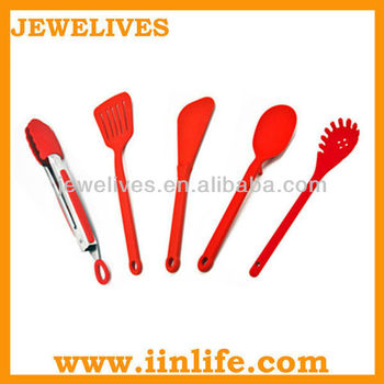 Complete silicone kitchen tool set,silicone kitchen utensil sets