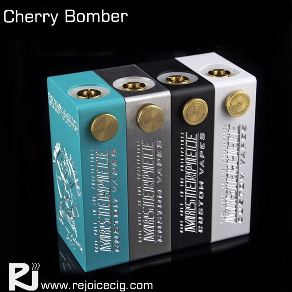 New arrival clone cherry bomber mod box magnet switch cherry bomber box mod