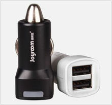 Paten design universal 5V 1A and 2.1A multi car charger usb dual port