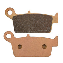 Rear Sintered Motorcycle Brake Pad for HONDA XR250 XR400 CRF230 KAWASAKI KLX250 KLX300 KX250