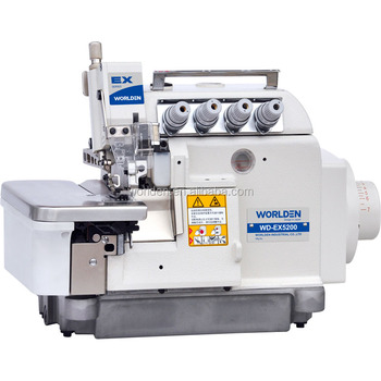 WDEX40 Super High Speed Overlock Sewing Machine Series Sewing Impressive Overlock Sewing Machine