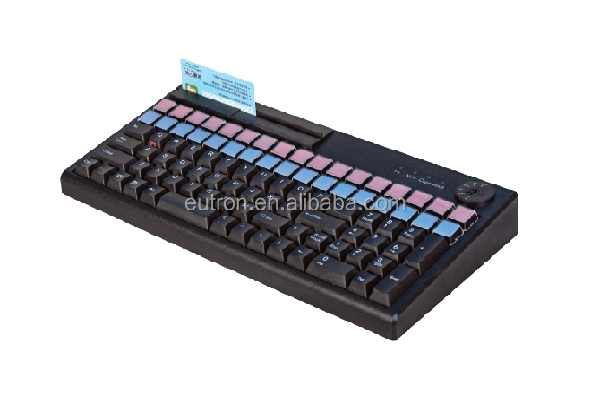 cheap usb programmable POS keyboard, 92 key usb thai keyboard