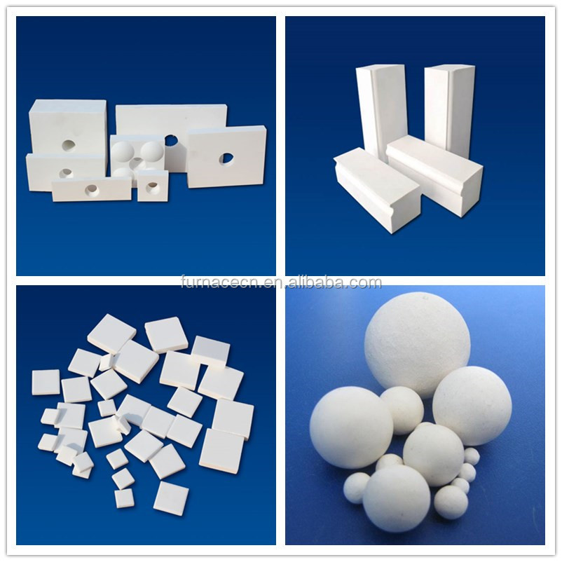 high alumina ceramic tile lining for mineral processing industry