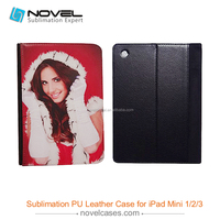 High Quality Sublimation Leather Tablet Case For iPad MINI