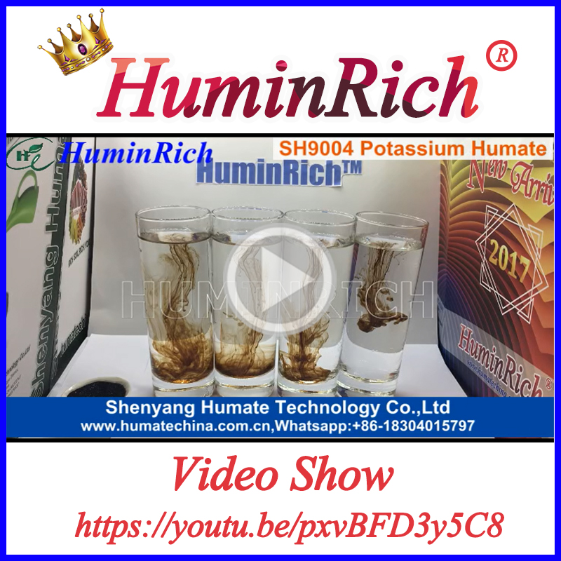 """HuminRich"" Organic Fertilizer Potassium Humate Fully Soluble Fulvic Humic Acid Price"