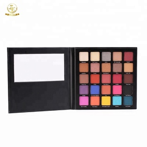 Newest High Pigment Private Label Glitter Eyeshadow Palette with 25 Colors
