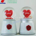 Customized Wedding Glass Snow Globe Personalized Wedding Souvenirs