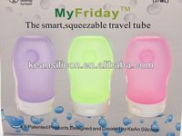 "Silicone Bottle Band ""My Friday"" Only Patented Mini Design for Travelling"
