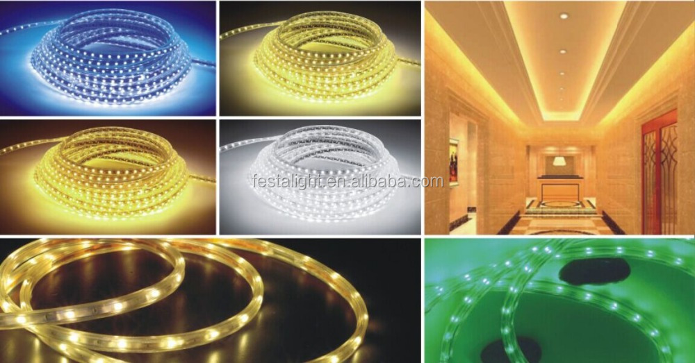 2016 new product China supplier led strip light 220V led strip RGB smd5050 ce rohs