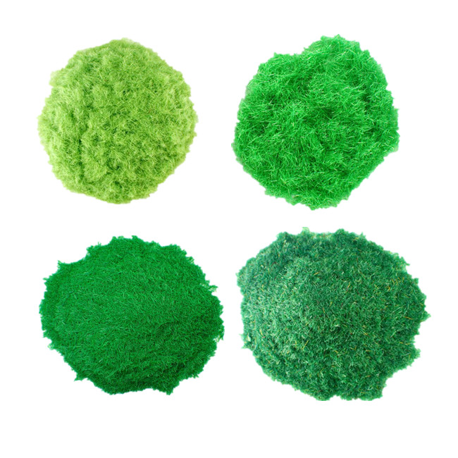 4 SEASONS STATIC GRASS FOR MODEL BASES / RAILWAY SCENERY