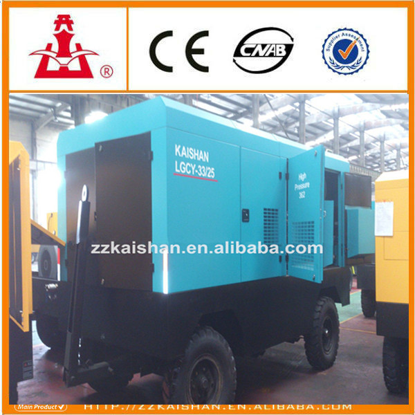 300 psi air compressor/ Used large High Pressure Portable Two-stage Diesel Air Compressor Prices