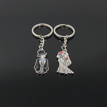 Newest products china wholesale high quality love key chain metal