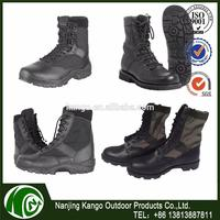 K-ANGO Spain Marekt Shipped Dark Color leather boots for army force