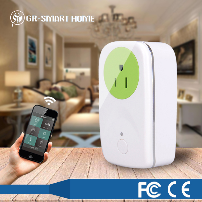 hot sale z-wave smart secure electric plug in switch on/off for home automation systems
