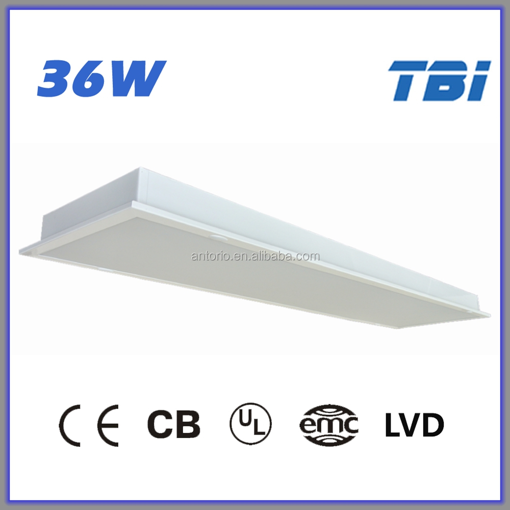 36W 1200x300 LED panel light surface mounted t8 fluorescent light fixture