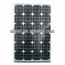 PROMOTION PRICE CE and TUV approved mono solar panel 50w