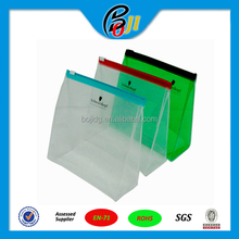 Directly Manufacture top quality clear vinyl zipper bag/ pouch