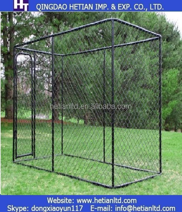 "Luck Dog Chain Link Box Kennel for 72"" x 60"" x 120"""