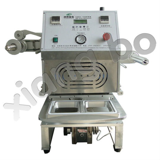 Desktop plastic food containers sealing machine A-350