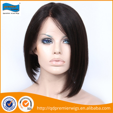 Worldwide women remy hair full lace wig with 130% density packed in plastic bag