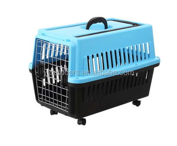 Dog travel durable expandable pet carrier cage
