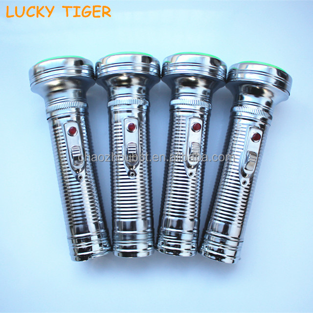2015 New Products Mini Led Torch Flashlight Iron Explosion Proof Flashlight