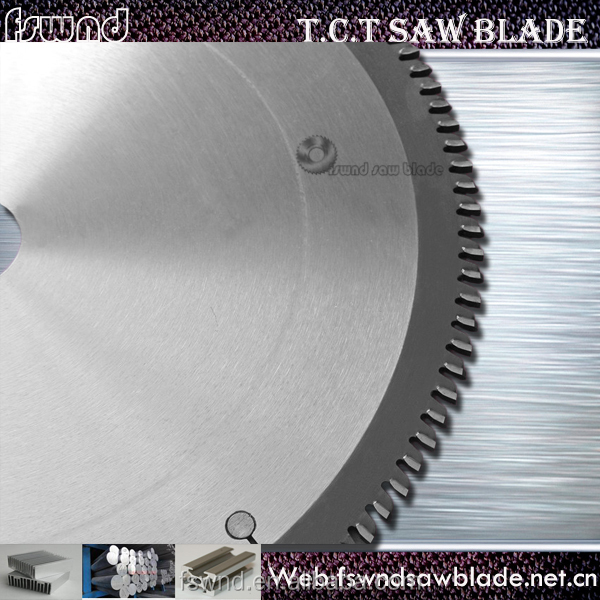 aluminum tube cutting tungsten carbide tipped circular saw blade