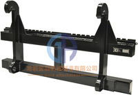 excavator attachment steel pallet fork frame