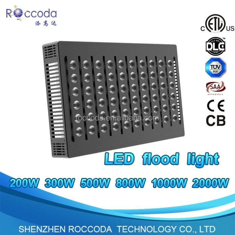 200 Watts Outdoor High Power LED Floodlight with LEDs & Driver