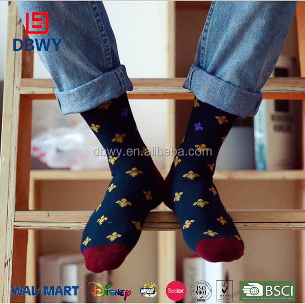 2015 hot sale pure cotton men socks casual socks China manufacturers