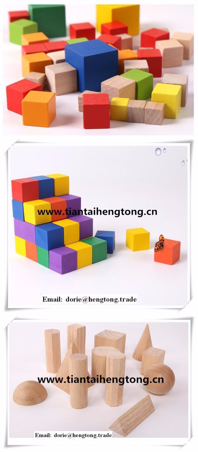 2cm wooden cube ,wooden accessory,natural color cube wooden accessory