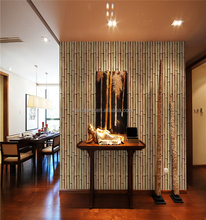cheap price mould-proof bamboo 3d nature wallpaper for hallways