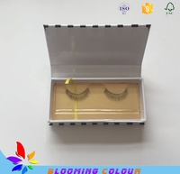 All kinds of high quality private label custom eyelash packaging