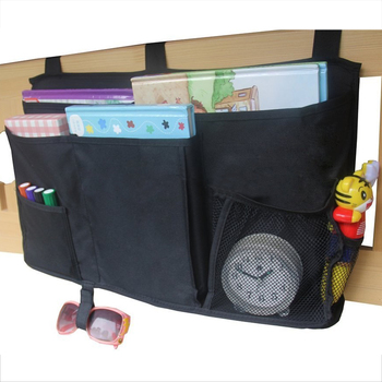 Hanging Bedside Storage Caddy for Books, Toys, TV Remote