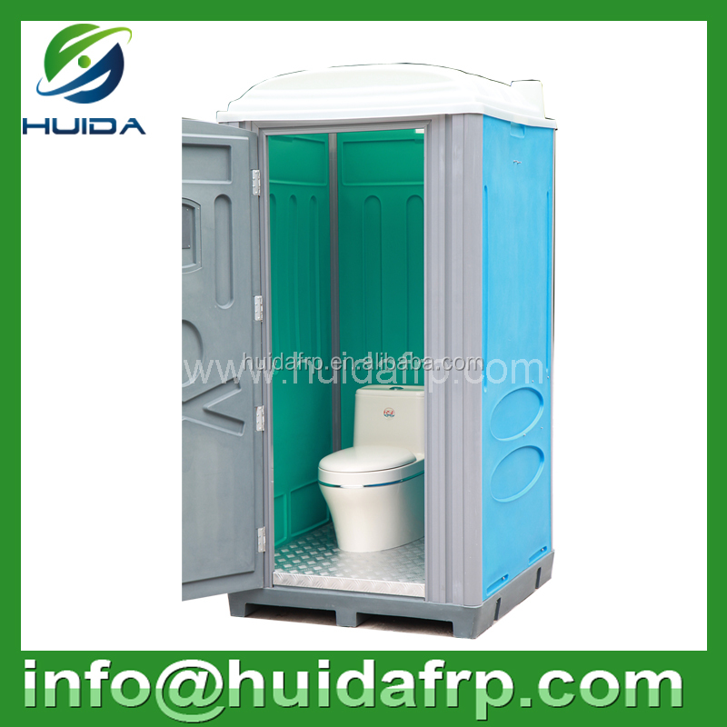 2015 New product! HDPE / LLDPE rotomolded plastic portable mobile toilet for construction site and outdoor
