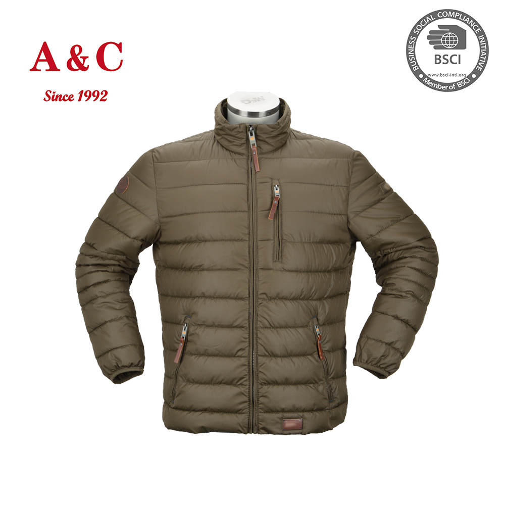 2016 Mens Light Weight Foldable Bomber Duck Down Jacket