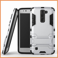 Iron bear kickstand phone case for lg k7 case cover