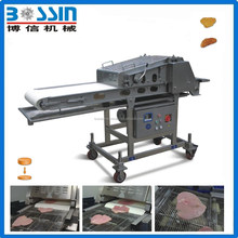 Flattening machine for chicken steak, meat steak and fish steak YY600