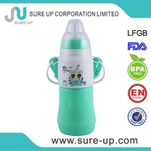 liquid baby thermal bottle,baby thermal flask,plastic baby bottle(FGUN003)