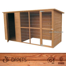 Wooden Animal House Large Dog Cage DFD012