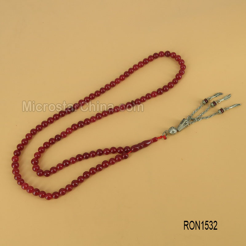 Red Jasper 99pcs (6MM) Islamic Prayer Beads tasbih tesbih Misbaha Tasbeeh