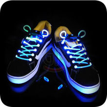 Popular Christmas Gift Items Colourful Shoelace With Led For Children Shoes