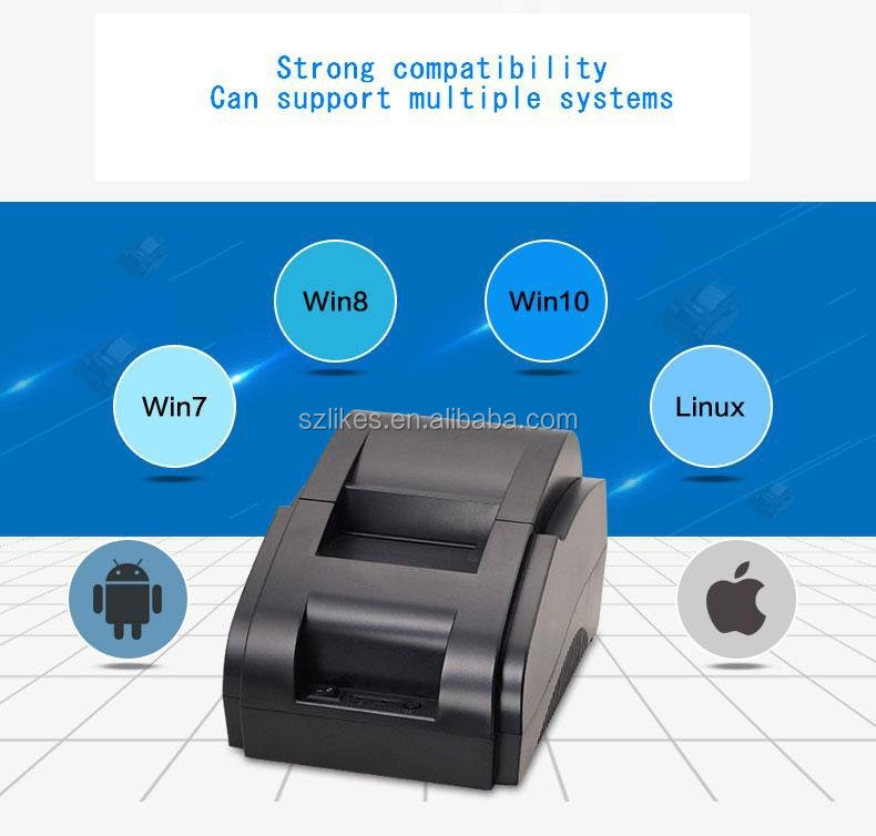 Financial POS system equipment 80mm POS receipt printer