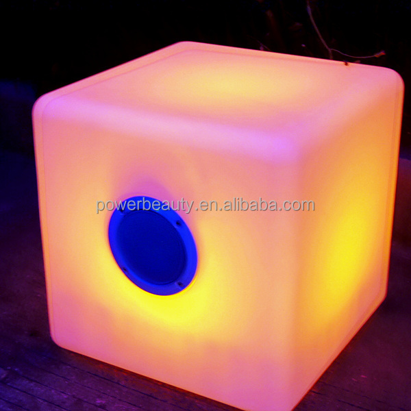 16 color changing wireless bluetooth Music Rhythm speakers with led light