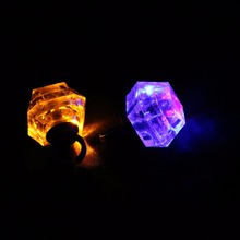 wholesale LED light diamond ring party supplies decorations