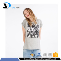 Guangzhou Daijun oem fashion hot sale sublimation breathable girl t shirts printed designs