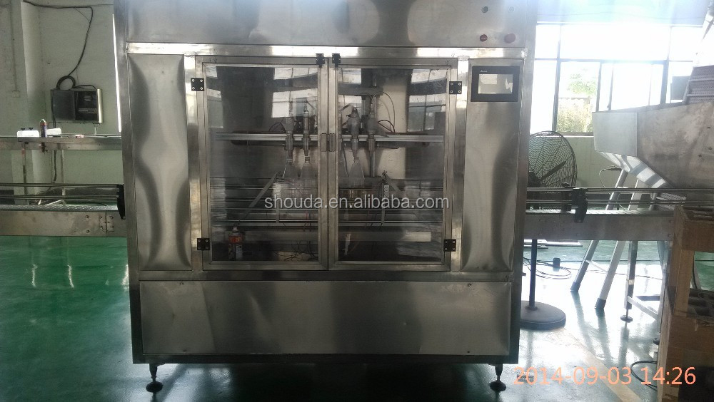 Shanghai facotry price vegetable /olive /coconut /sunflower oil filling production line