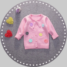Newborn Baby Clothes Design Wholesale Color Combination Wool Sweater For Girl