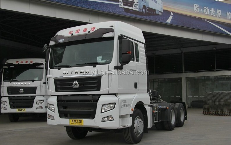SINOTRUK SITRAK C7H 390PH 6*4 TRACTOR TRUCK FOR SALE FOR AFRICA
