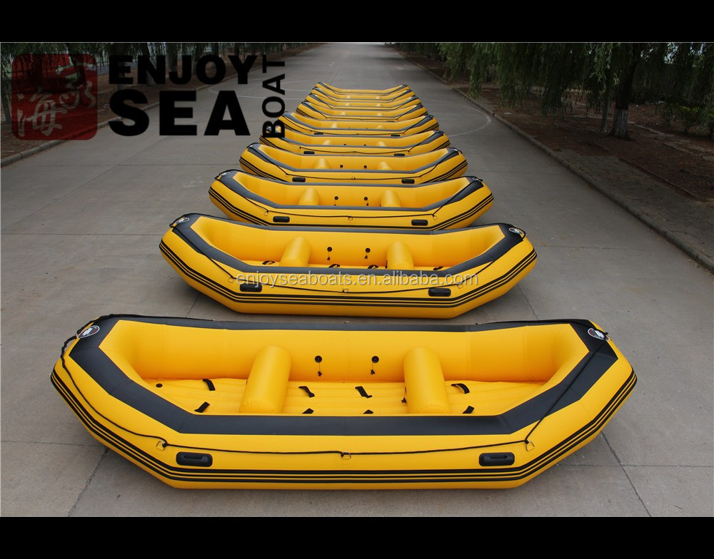 2016 New CE 14feet 8 person drifting boat inflatable river raft /rafting boat for hot sale